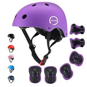 JIFAR Skateboard Cycling Adjustable Kids Helmet