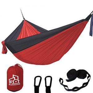 Camping Hammock Single Double Portable Backpacking
