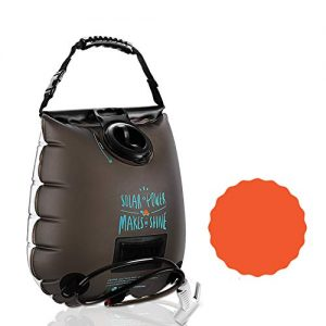 Solar Shower Camp Shower Water Heater Portable Eco-Friendly Sun Shower Bag