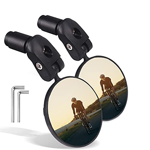 Safe Rearview Mirror with a Aluminum Bike Mirror