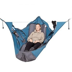 Flat Sleep Hammock Tent with Bug Net and Suspension Kit
