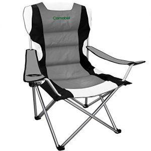 Folding Camping Chairs for Heavy Duty Beach Hiking Fishing