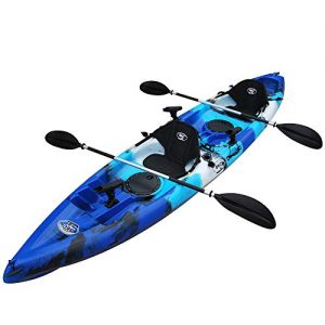 8 inch Tandem 2 or 3 Person Sit On Top Fishing Kayak