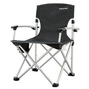 Folding Lightweight Camping Chairs Aluminum Hard Armrest