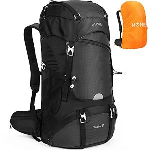 Hiking Backpack 50L with Rain Cover