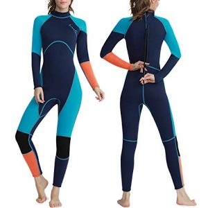 Wetsuit Full Body UV Protection One Piece Long Sleeves