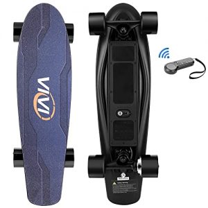 Electric Skateboard with Remote for Adults Teens Kids Max 12.4 MPH