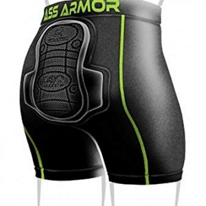 Snowboard, Skate and Ski Protective Padded Compression Shorts
