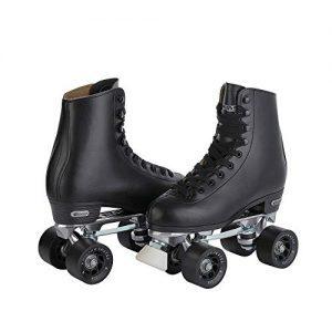 CHICAGO SKATES Men's Premium Leather Lined Rink Roller Skate