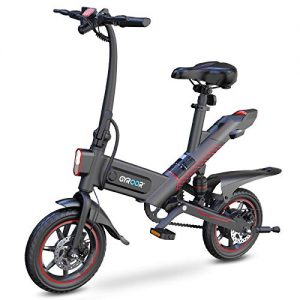 Electric Bike for Adults 14in Air-Filled Tires