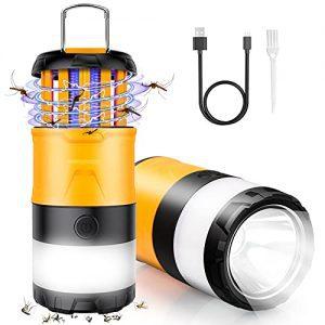 3 in 1 Bug Zapper, LED Camping Lantern