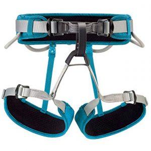 PETZL - Corax Climbing Harness, Turquoise