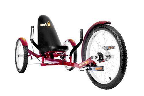 Mobo Cruiser Triton Pro Recumbent Trike.