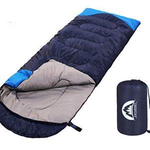 Camping Lightweight Sleeping Bag for Kids, Teens & Adults