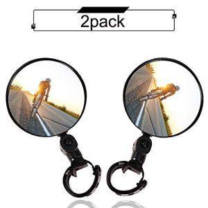 Mountain Bike Wide Angle Convex Mirror
