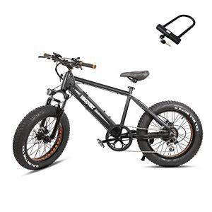 "Nakto Electric Bike Electric Beach Bike 20"""