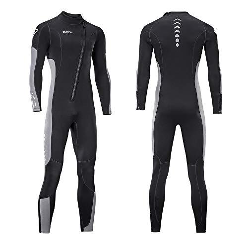 Neoprene Diving Wet Suit with Front Zipper for Scuba, Surfing
