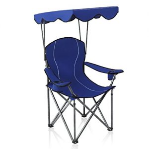 Canopy Chair Folding Camping Recliner