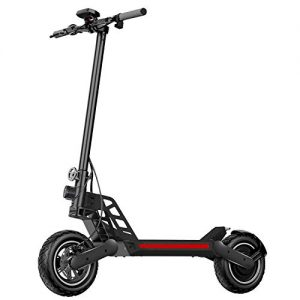 Electric Scooter for Adults with Dual Braking System