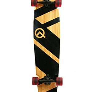 "Original Artisan Bamboo and Maple 44"" Longboard Skateboard"