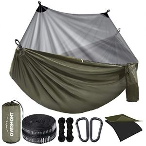 Camping Hammock with Mosquito Net Double Layer