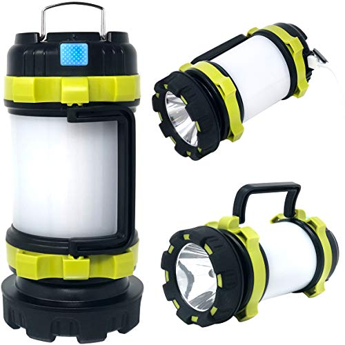 Rechargeable Camping LED Lantern Flashlight for Camping, Hiking