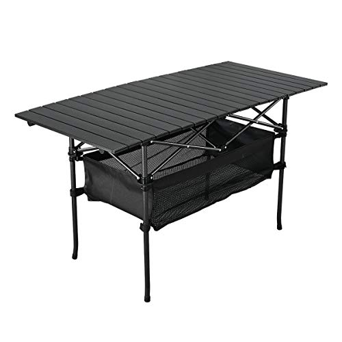 Folding Portable Picnic Camping Table with Easy Carrying