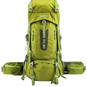 60L Ventilated Camping Backpack Hiking