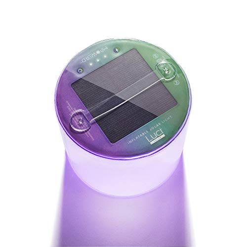 Solar Inflatable Light with 8 Colors No Batteries Needed