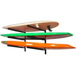 Yes4All Heavy Duty Steel Wall Mount Paddle Board Racks