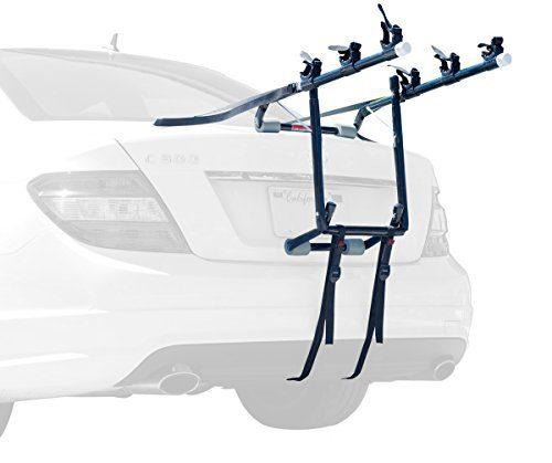 ALLEN Deluxe 3-Bike Trunk Mount Rack