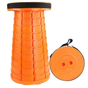 Telescoping Stool Collapsible Folding for Hiking, Fishing, Picnic