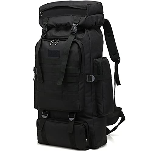 80L Camping Hiking Backpack with Rain Cover