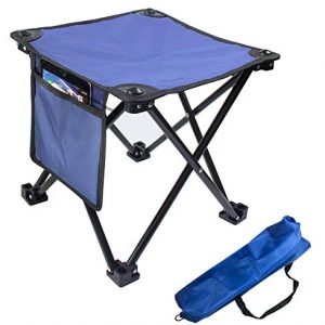 Portable Rest Seat Collapsible Slacker Stool for Outdoor Camping