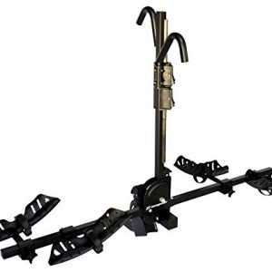 EASY TO ASSEMBLE: The CHINOOK hitch mount bike rack's instructions are easy to follow. Once installed you can load and unload the rack to the vehicle in under 2 minutes