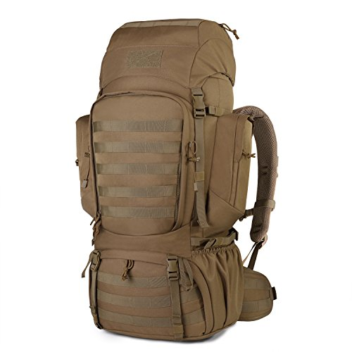 60L Backpack Tactical Military with Rain Cover