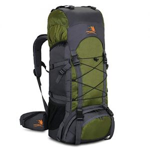 Hiking Backpack with Rain Cover 60L Internal Frame