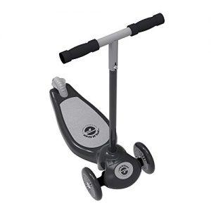 Grey 3 Wheel Lean to Steer Scooter