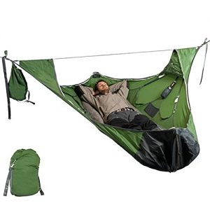 Hammock Tent with Bug Net and Suspension Kit