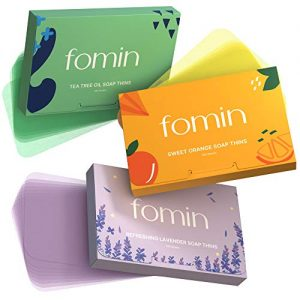 Variety Foaming Hand Soap Sheets for Traveling