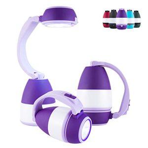 Enbrighten Purple 3 in 1 LED Combo Lantern