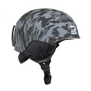Convertible Ski & Snowboard Skate Helmet
