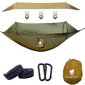GEERTOP Camping Hammock with Net Portable