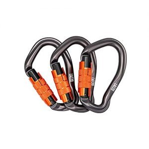 Auto Locking Twist Lock Climbing Carabiner Clips