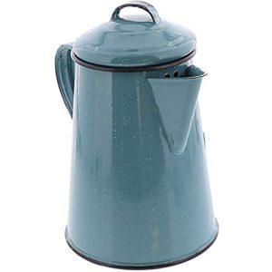 Cinsa Enamelware Coffee Pot (Turquoise Color)