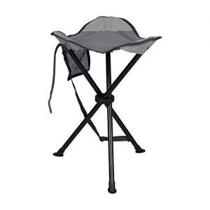 PORTAL Tall Slacker Chair Folding Tripod Stool
