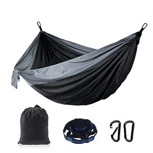 Plus Size Camping Hammock Lightweight Portable Hiking Backyard