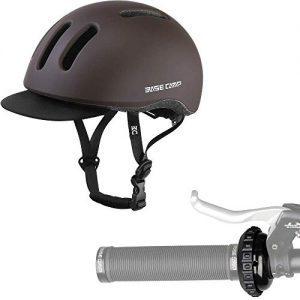 Adult Bike Helmet with Removable Visor & Bike Bell