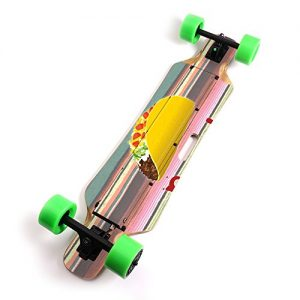 Electric Skateboard Unique Vinyl Decal wrap Cover
