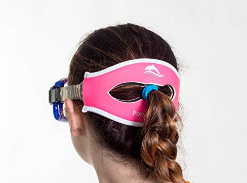 Poni-tamer Scuba Gear Diving Mask Slap Straps